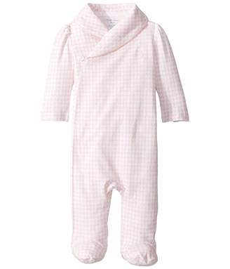 Ralph Lauren Baby Cotton Interlock Coverall (Infant)