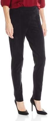 Calvin Klein Women's Essential Power Stretch Faux-Suede Front Legging