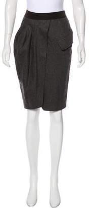 Brunello Cucinelli Knee-Length Wool Skirt