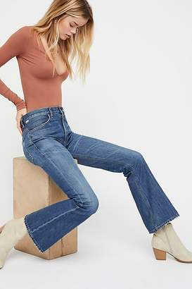 Citizens of Humanity Kaya Mid-Rise Crop Flare Jeans