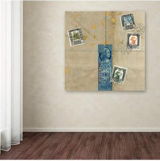 "Nick Bantock 'Middle East' Canvas Art, 35"" x 35"""