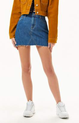 PacSun Vintage Medium Indigo 5-Pocket Skirt