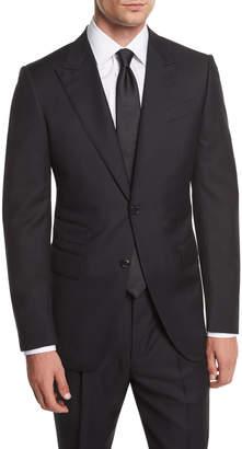 Ermenegildo Zegna Wool Herringbone Two-Piece Suit