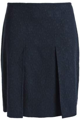 A.P.C. Cotton-Blend Jacquard Mini Skirt