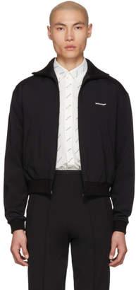 Balenciaga Black Jersey Tracksuit Jacket