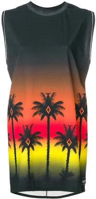 Marcelo Burlon County of Milan Palms tank dress