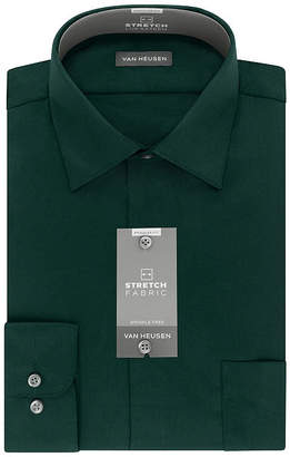 e7fa15a749d87 Van Heusen Lux Sateen Stretch B T Long Sleeve Dress Shirt