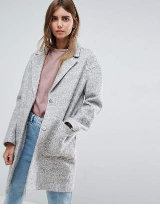 Asos Design Textured Coat