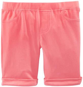 Epic Threads Little Girls Solid Bermuda Shorts