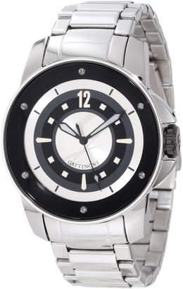 Gattinoni Men's Draco Stainless Steel Luminous Watch W0195JSSSLV