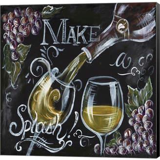 Metaverse Chalkboard Wine Ii By Tre Sorelle Studios Canvas Art
