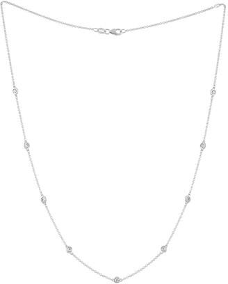 Diana M . Fine Jewelry 14K 0.85 Ct. Tw. Diamond Necklace
