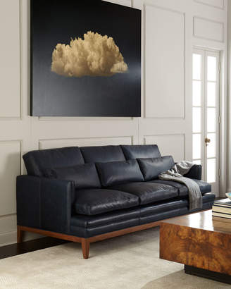 The Eleanor Rigby Leather Company Carlyn Leather Sofa