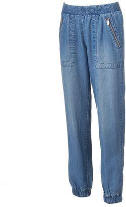 Women's Juicy Couture Jean Jogger Pants $50 thestylecure.com