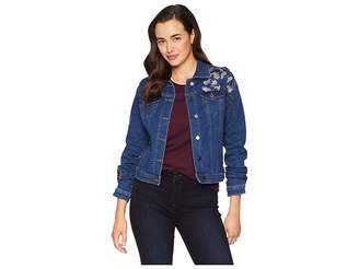 FDJ French Dressing Jeans Embroidered Denim Jacket