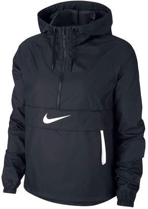 Nike Sportswear Packable Half-Zip Hooded Jacket