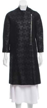Paul Smith Textured Knee-Length Coat