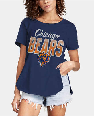 Authentic Nfl Apparel Women Chicago Bears Short Sleeve T-Shirt