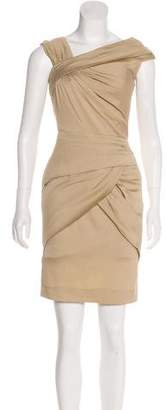 Tadashi Shoji Sleeveless Silk Dress