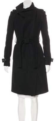 BCBGMAXAZRIA Wool Long Coat