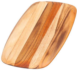 Proteak TEAKHAUS BY Gently Rounded and Rectangle Edge Grain Wood Cutting Board