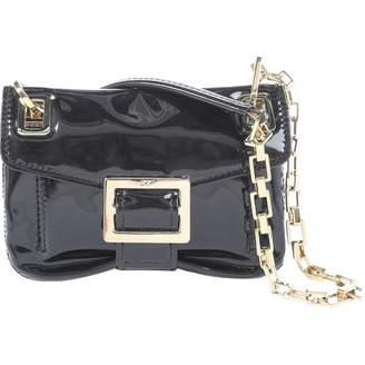 4dafcdc026a2 Roger Vivier Black Patent leather Clutch Bag