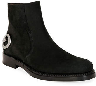 Salvatore Ferragamo Men's Bankley Gancini Ankle Boots