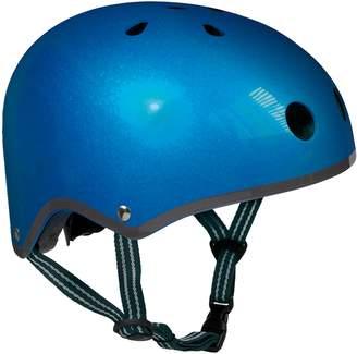 Micro Kickboard Metallic Helmet