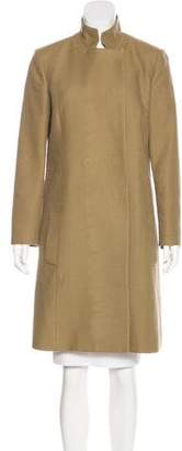 Chloé Wool-Blend Knee-Length Coat