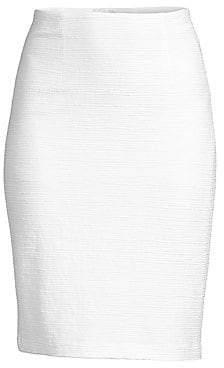 Nanette Lepore Women's Textured Pencil Skirt