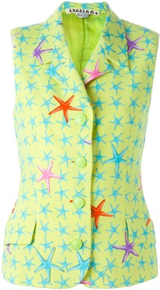Versace Pre-Owned starfish print vest