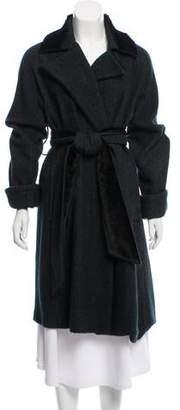 Etro Belted Knee-Length Coat