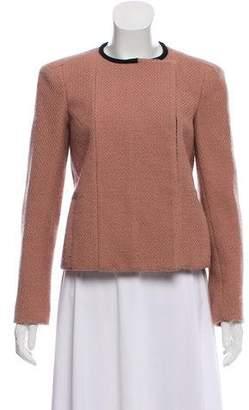 Diane von Furstenberg Emily Novelty Woven Structured Jacket