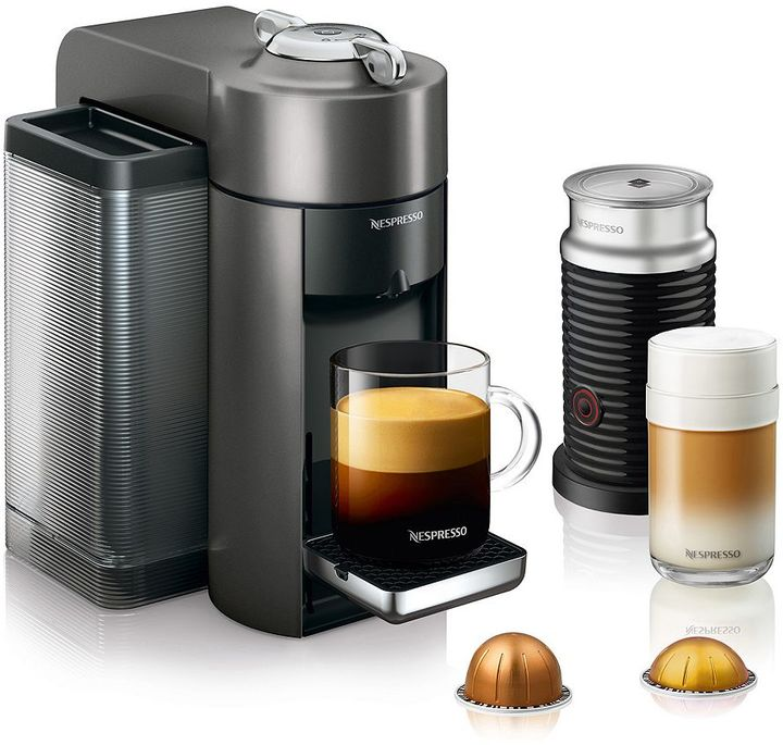 Nespresso Nespresso Vertuo Coffee & Espresso Machine with Aeroccino Milk Frother