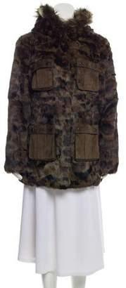 Jocelyn Fur Field jacket