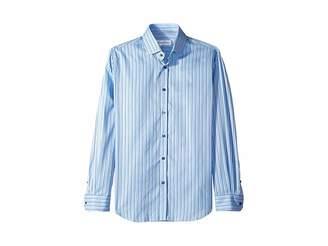 Robert Graham Abel Stripe Long Sleeve Dress Shirt