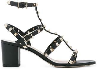 Valentino Rockstud strap detail sandals