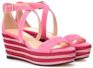 Jimmy Choo Portia 70 wedge sandals
