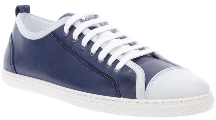 Emporio Armani Leather trainer