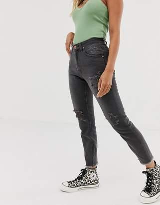 One Teaspoon Freebird high rise distressed skinny jeans