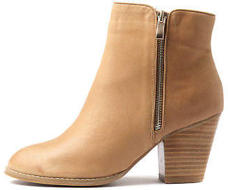 Django & Juliette New Robys Tan Womens Shoes Casual Boots Ankle