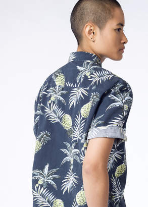 Barney Cools Tourist S/S Button Up   Wildfang - Tourist S/S Button Up - NAVY - SMALL