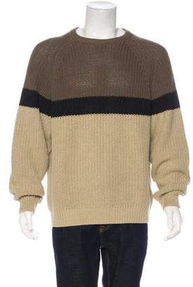 Woolrich Rib Knit Multicolored Sweater