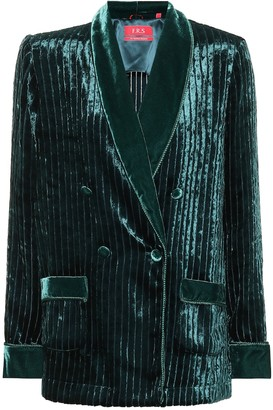 F.R.S For Restless Sleepers Ate velvet corduroy pajama jacket