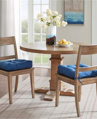 Madison Park Ridge Tufted Square Chair Pad Pair