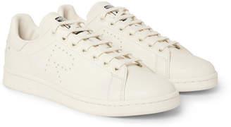 Raf Simons + Adidas Originals Stan Smith Leather Sneakers