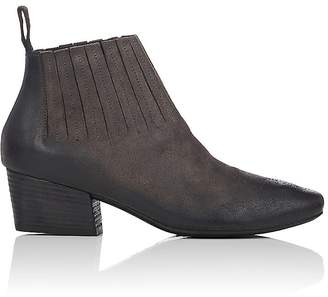 Marsèll Women's Gore-Detail Suede Ankle Boots