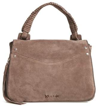 Elizabeth and James Small Trapeze Leather Satchel