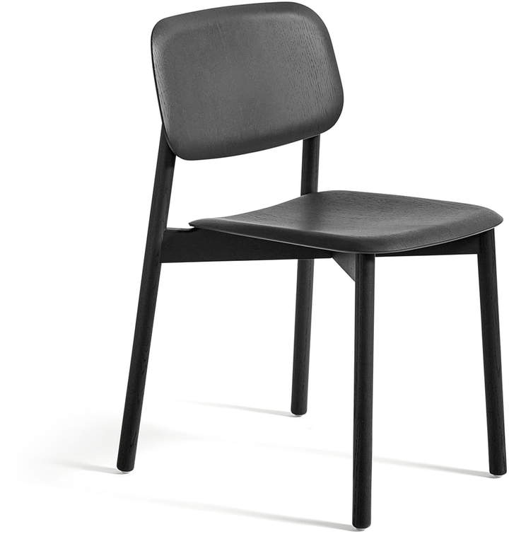 Hay - Soft Edge 12 Stuhl, Eiche soft schwarz gebeizt