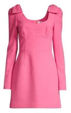 Rebecca Vallance Love Bonded Crepe Mini Dress
